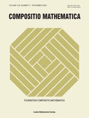 Compositio Mathematica Volume 156 - Issue 11 -
