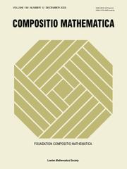 Compositio Mathematica Volume 156 - Issue 12 -