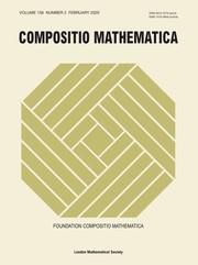 Compositio Mathematica Volume 156 - Issue 2 -
