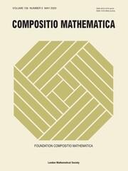 Compositio Mathematica Volume 156 - Issue 5 -