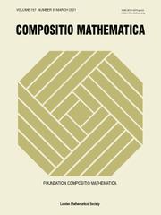 Compositio Mathematica Volume 157 - Issue 3 -