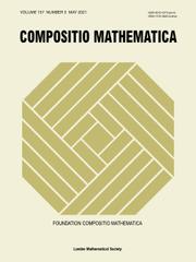 Compositio Mathematica Volume 157 - Issue 5 -