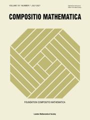 Compositio Mathematica Volume 157 - Issue 7 -