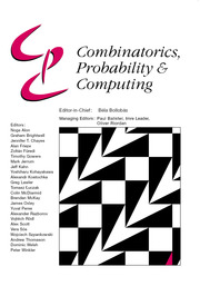 Combinatorics, Probability and Computing
