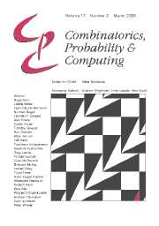 Combinatorics, Probability and Computing Volume 17 - Issue 2 -