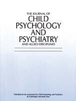 The Journal of Child Psychology and Psychiatry and Allied Disciplines