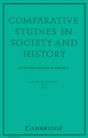 Comparative Studies in Society and History Volume 49 - Issue 3 -