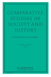 Comparative Studies in Society and History Volume 52 - Issue 1 -
