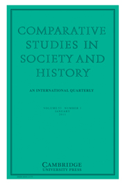 Comparative Studies in Society and History Volume 53 - Issue 1 -