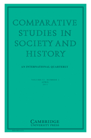 Comparative Studies in Society and History Volume 53 - Issue 2 -