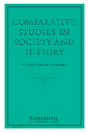 Comparative Studies in Society and History Volume 56 - Issue 2 -