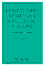Comparative Studies in Society and History Volume 59 - Issue 2 -