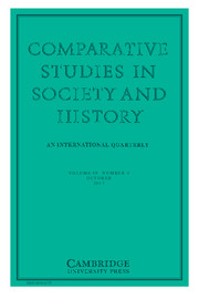 Comparative Studies in Society and History Volume 59 - Issue 4 -