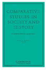 Comparative Studies in Society and History Volume 60 - Issue 1 -