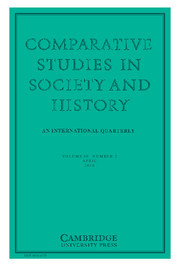 Comparative Studies in Society and History Volume 60 - Issue 2 -