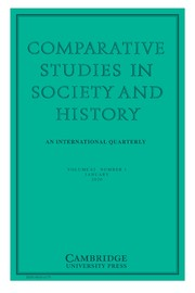 Comparative Studies in Society and History Volume 62 - Issue 1 -