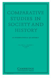 Comparative Studies in Society and History Volume 62 - Issue 4 -