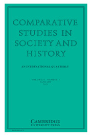 Comparative Studies in Society and History Volume 63 - Issue 1 -