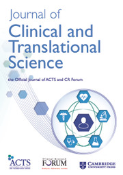Journal of Clinical and Translational Science