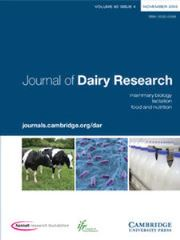Journal of Dairy Research Volume 82 - Issue 4 -