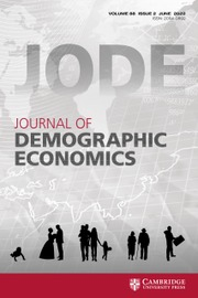 Journal of Demographic Economics