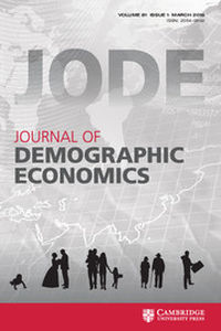 Journal of Demographic Economics Volume 81 - Issue 1 -