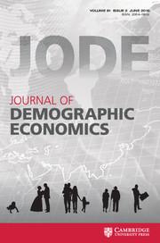 Journal of Demographic Economics Volume 81 - Issue 2 -