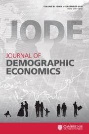 Journal of Demographic Economics Volume 81 - Issue 4 -