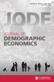 Journal of Demographic Economics Volume 85 - Issue 2 -
