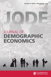 Journal of Demographic Economics Volume 85 - Issue 3 -
