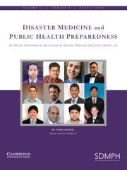 Disaster Medicine and Public Health Preparedness Volume 14 - Issue 4 -