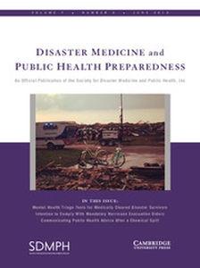 Disaster Medicine and Public Health Preparedness Volume 7 - Issue 3 -