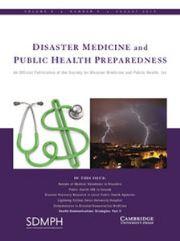 Disaster Medicine and Public Health Preparedness Volume 9 - Issue 4 -