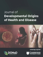 Image result for journal of developmental origins of health and disease