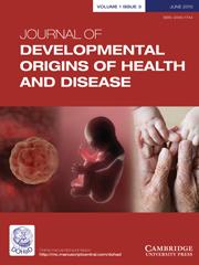 Journal of Developmental Origins of Health and Disease Volume 1 - Issue 3 -