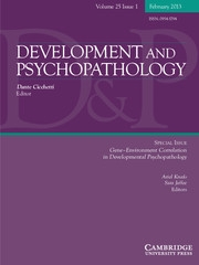 Development and Psychopathology Volume 25 - Issue 1 -  Gene–Environment Correlation in Developmental Psychopathology