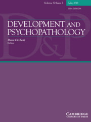 Development and Psychopathology Volume 30 - Issue 2 -