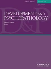 Development and Psychopathology Volume 31 - Issue 4 -