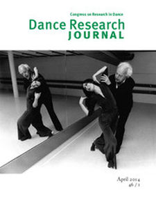 Dance Research Journal Volume 46 - Issue 1 -