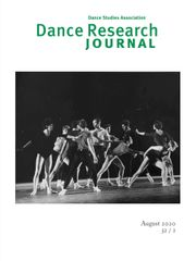 Dance Research Journal Volume 52 - Issue 2 -