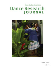 Dance Research Journal Volume 53 - Issue 1 -