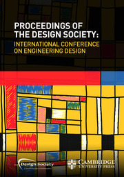 Proceedings of the Design Society: International Conference on Engineering Design