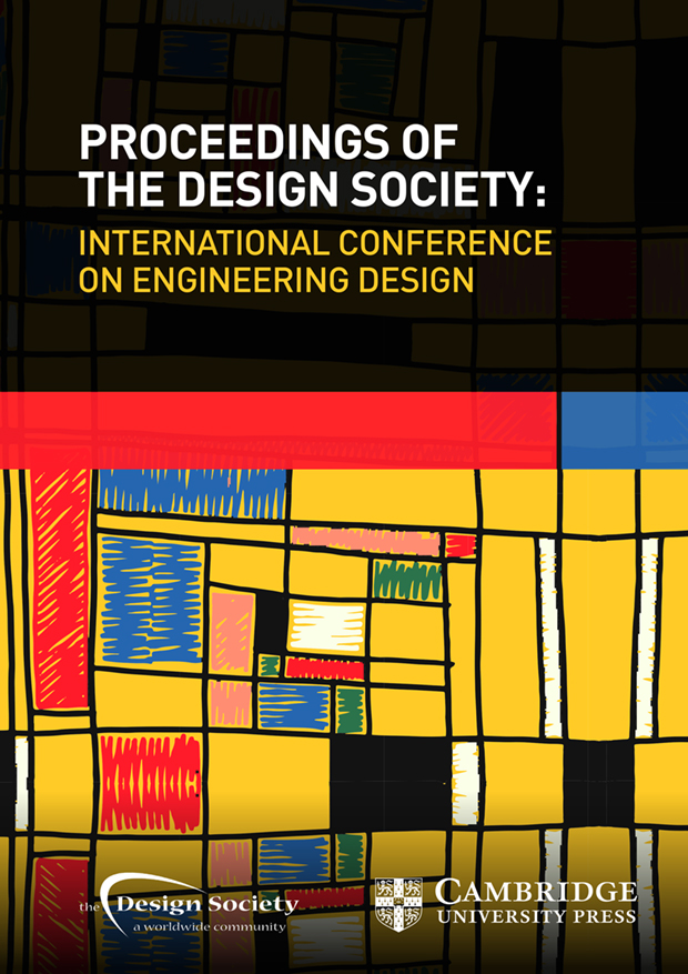 Proceedings Of The Design Society International Conference On Engineering Design Proceedings Of The Design Society Cambridge Core