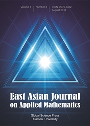 East Asian Journal on Applied Mathematics