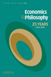 Economics & Philosophy Volume 25 - Issue 3 -  Economics and Philosophy on Ambiguity Aversion