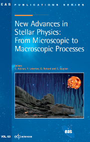 European Astronomical Society Publications Series Volume 63 - Issue  -