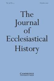 The Journal of Ecclesiastical History Volume 58 - Issue 4 -