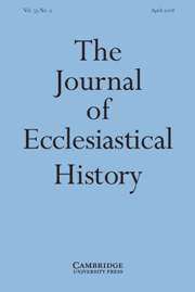The Journal of Ecclesiastical History Volume 59 - Issue 2 -