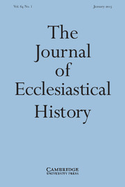 The Journal of Ecclesiastical History Volume 64 - Issue 1 -