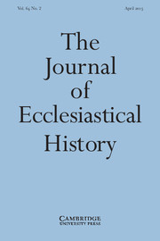 The Journal of Ecclesiastical History Volume 64 - Issue 2 -
